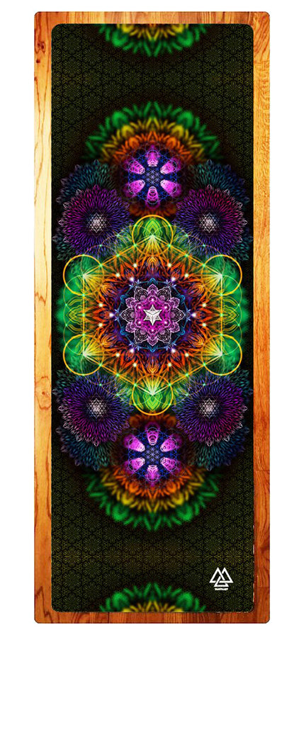 """Geometric"" Yoga Mat"