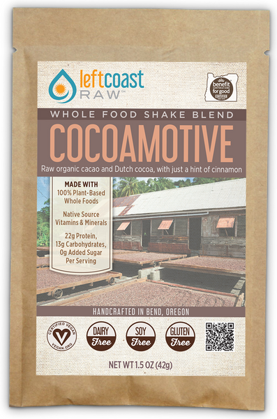 CocoaMotive Whole Food Shake Blend