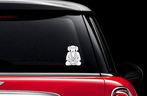 Buddha Dog Sticker