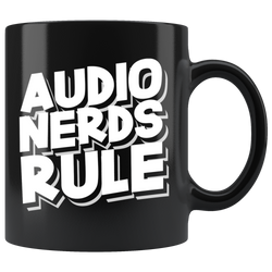 Audio Nerds Rule Coffee Mug