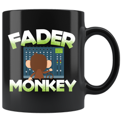 Fader Monkey Coffee Mug