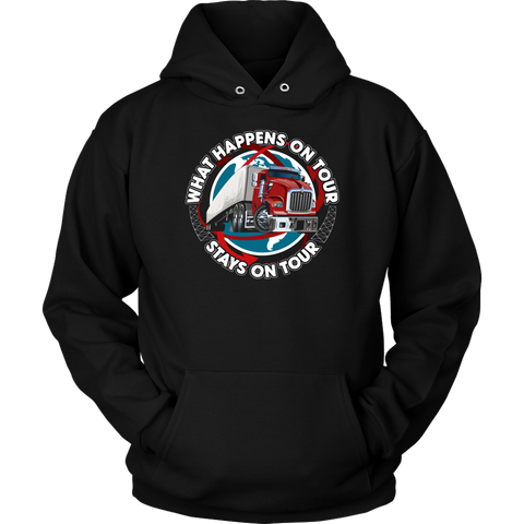 What Happens On Tour Hoodie