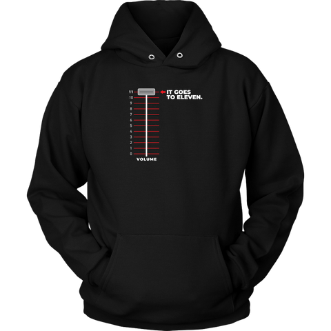 It Goes To Eleven Hoodie