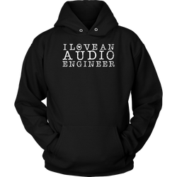 I Love An Audio Engineer Hoodie