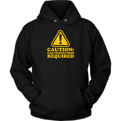 Caution: Ear Protection Required Hoodie