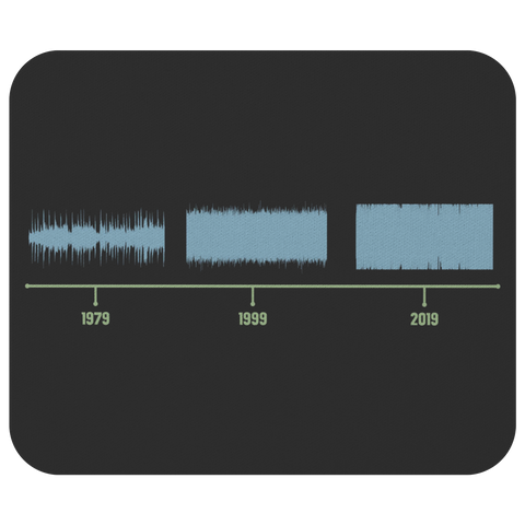 Loudness War Mouse Pad