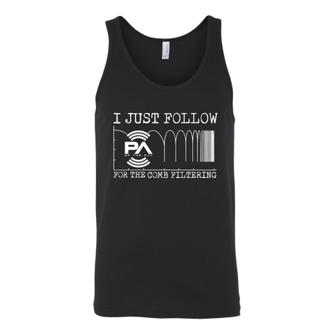 I Just Follow PA of the Day for the Comb Filtering Tank Top