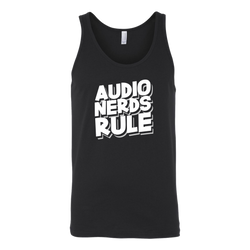 Audio Nerds Rule Tank Top