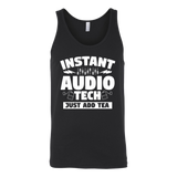 Instant Audio Tech Just Add Tea Tank Top