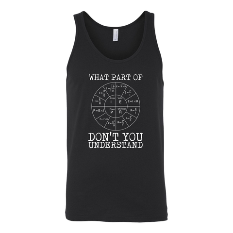 What Part Of Ohm's Law Don't You Understand Tank Top