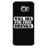 Will Mix For Free Drinks Android Phone Case