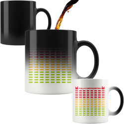 Fully Caffeinated Color-Changing Magic Mug