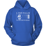 I Just Follow PA of the Day for the Comb Filtering Hoodie