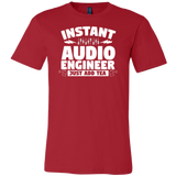 Instant Audio Engineer Just Add Tea Short Sleeve T-Shirt