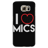 I (Cardioid) Heart Mics - iPhone Android Case