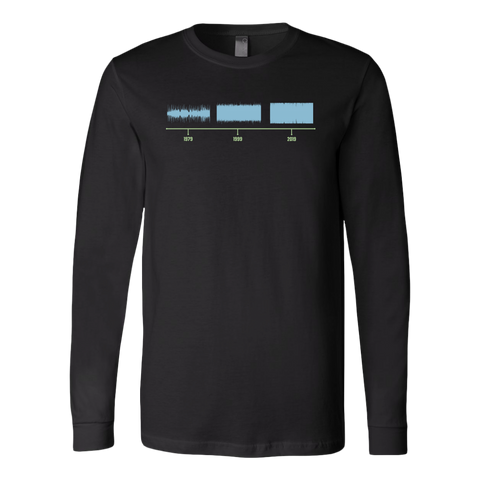 Loudness War Long Sleeve T-Shirt