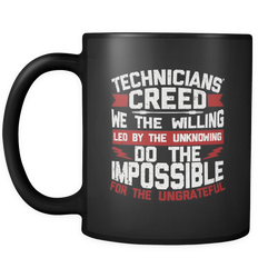 Technicians' Creed Coffee Mug