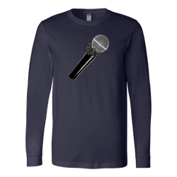 Don't Cup The Mic Long Sleeve Shirt