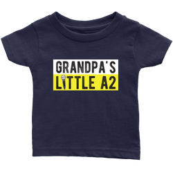 Grandpa's Little A2 Kids Onesie and Tees
