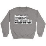 Czech One Too Sweatshirt