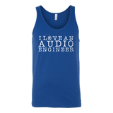 I Love An Audio Engineer Tank Top