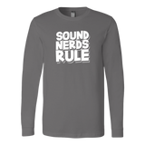 Sound Nerds Rule Long Sleeve T-Shirt