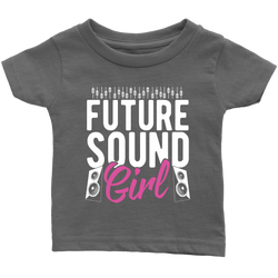 Future Sound Girl Kids Onesie and Tees