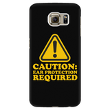 Caution: Ear Protection Required Android Cell Phone Case