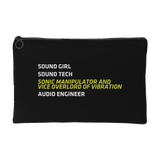Sound Girl - Sonic Manipulator and Vice Overlord of Vibration Gear Bag