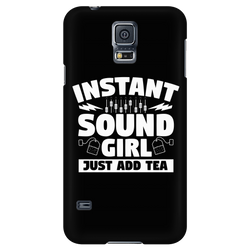 Instant Sound Girl - Just Add Tea iPhone Android Cell Phone Case