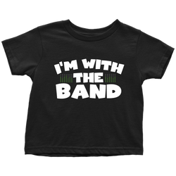 I'm With The Band Kids Onesie and Tees