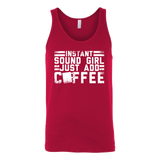 Instant Sound Girl - Just Add Coffee Tank Top