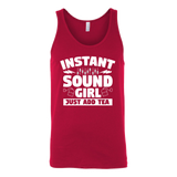 Instant Sound Girl - Just Add Tea Tank Top