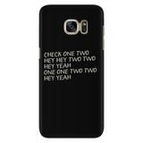 Sound Check Script Android Cell Phone Case