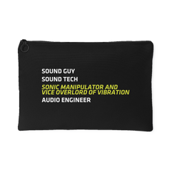 Sound Guy - Sonic Manipulator and Vice Overlord of Vibration Gear Bag
