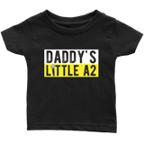 Daddy's Little A2 Kids Onesie and Tees
