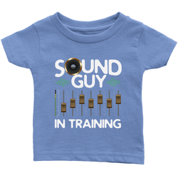 Sound Guy In Training Kids Onesie and Tees