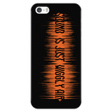 Sound Is Just Wiggly Air iPhone/Samsung Phone Case