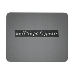 Gaff Tape Engineer Mouse Pad
