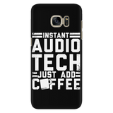 Instant Audio Tech Just Add Coffee iPhone Android Cell Phone Case