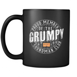 Proud Member of the Grumpy Soundman Club Coffee Mug