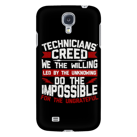 Technicians' Creed Android Samsung Phone Case