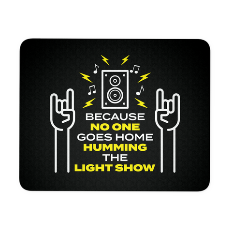 Humming The Light Show Mouse Pad