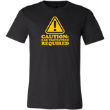 Caution: Ear Protection Required Short Sleeve T-Shirt