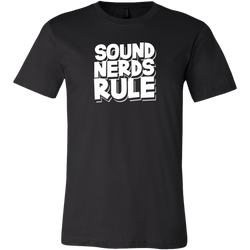 Sound Nerds Rule Short Sleeve T-Shirt