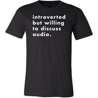 Introverted But Willing To Discuss Audio