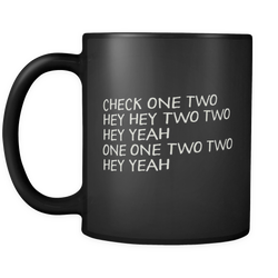 Sound Check Script Coffee Mug