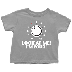 Look At Me - I'm Four Kids Tees