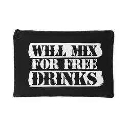 Will Mix For Free Drinks Gear Bag