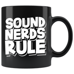 Sound Nerds Rule Coffee Mug